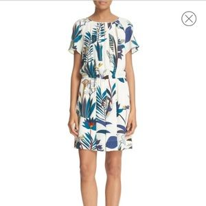 Tory Burch Anatolie Botanical Print Dress